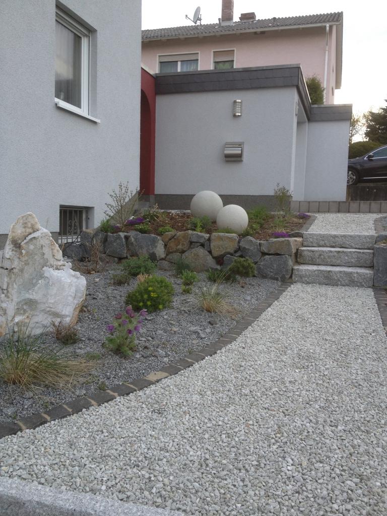 Pflegeleichte gärten kieswege