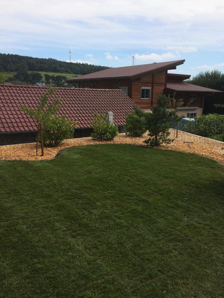 Rollrasen und Pflegeleichte Gartengestaltung